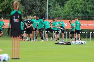 Borussia im Trainingslager