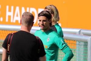 Fotostrecke: Borussia startet in Vorbereitung auf Dortmund